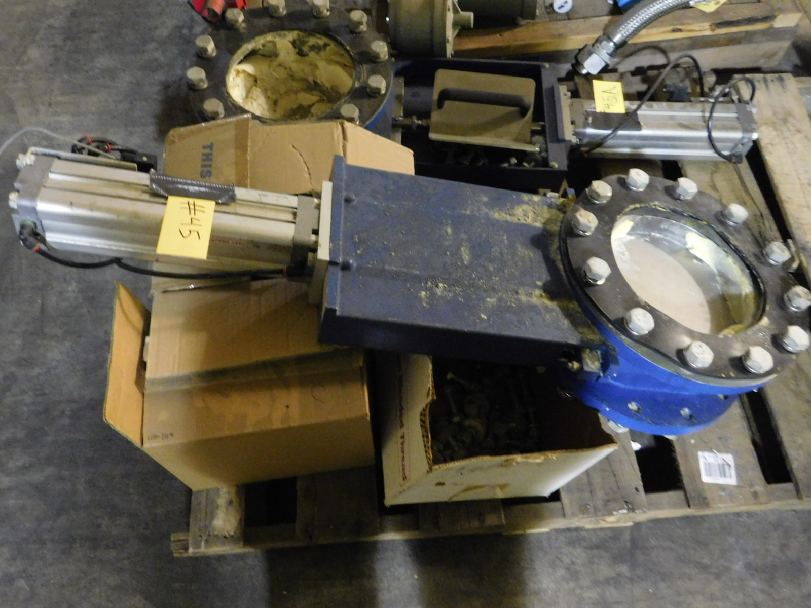 "Lot 45 - NORGEN 10"" Valve With Norgren Double Action Pneumatic Profile Cylinder Model:PRA-182080/M ONLY ON"