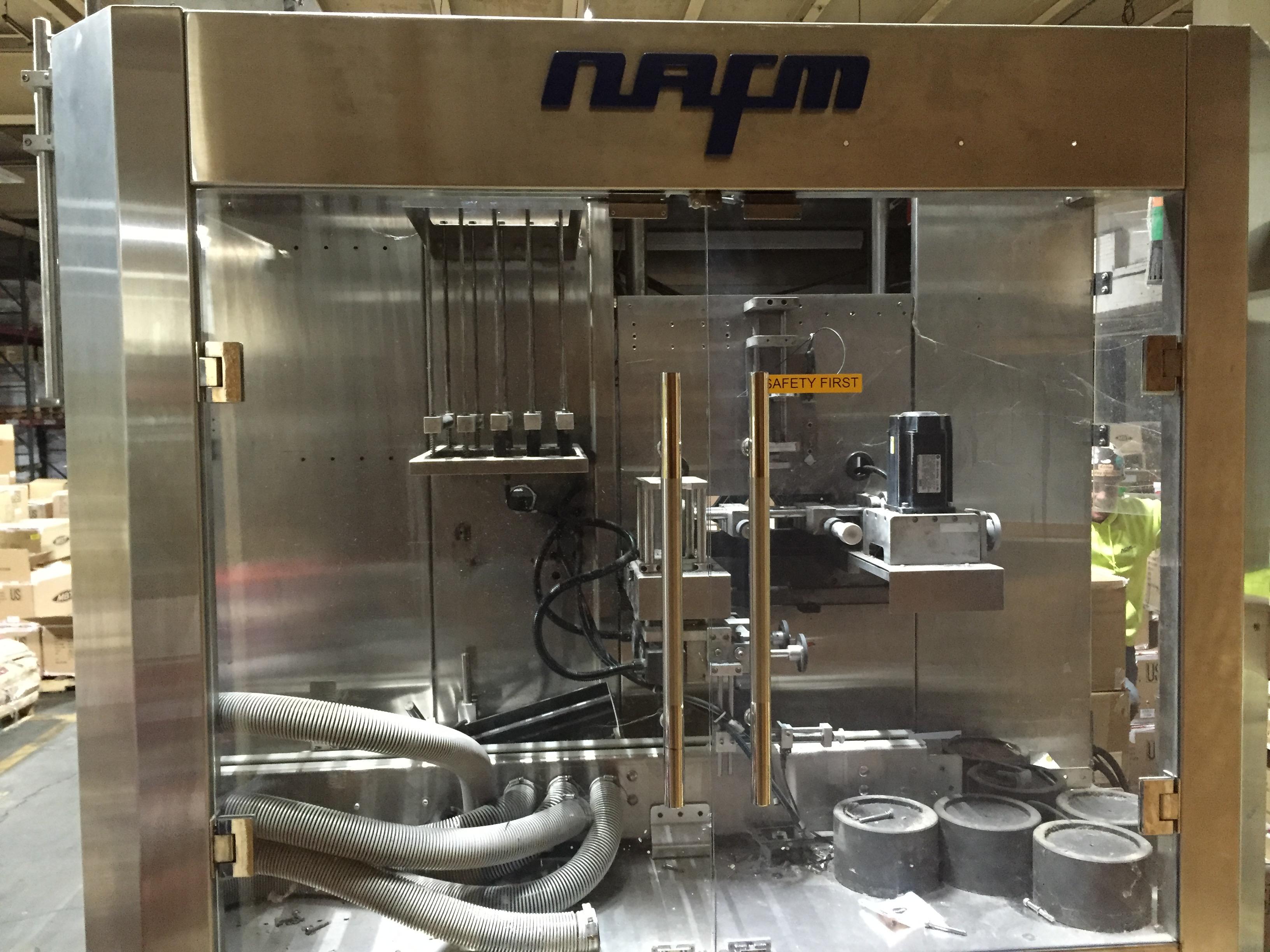 Lot 75 - NAFM,LX-500,Inline Shrink labelng Machine, SN: 0618NAFM-10170021, Mfg. 10/17/2011 :equipment located