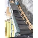 Hytrol Elevator 11ft. Incline motorized conveyor,460v,3 phase :equipment located at Clark Logistic