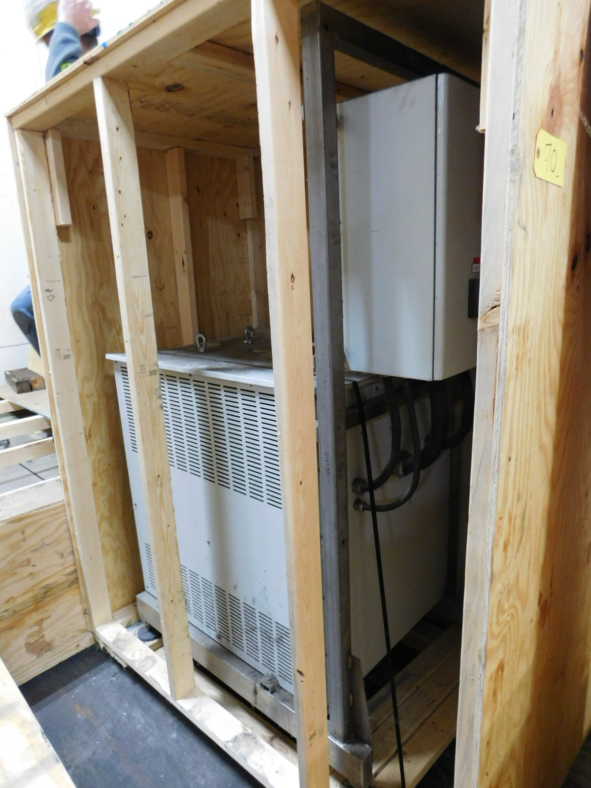Lot 70 - Legrand UPS Power conditioner 100KVA 480V/192A, Model P:1600KVA, SN: REF:7920021,Mfg 9-1993 :