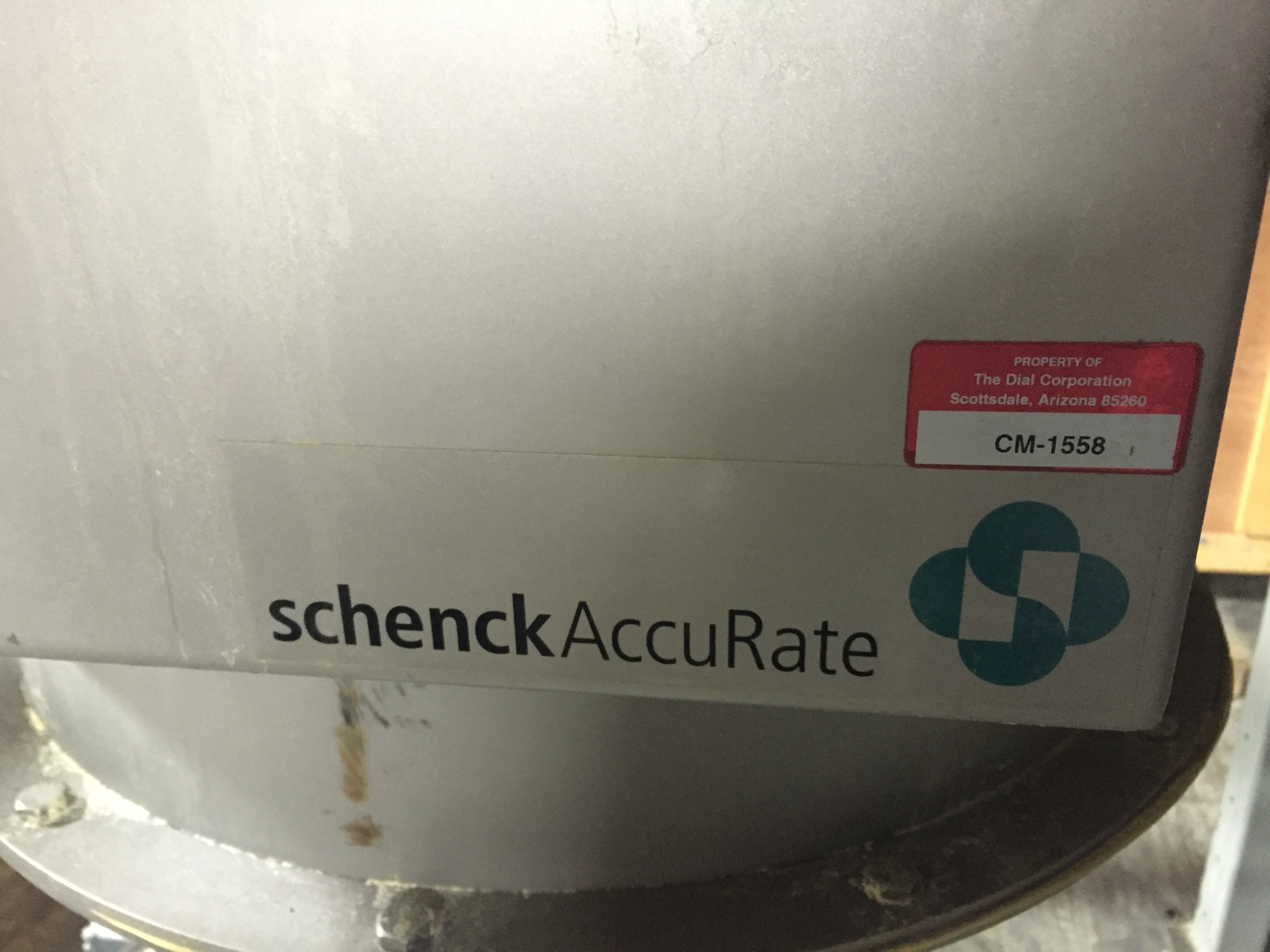 Lot 22 - SacMaster Schenck Accu Rate,Sackmaster Model:A127-89601301,SN:127896-03A-PLC,MFG 2008, 5'-3' x8'