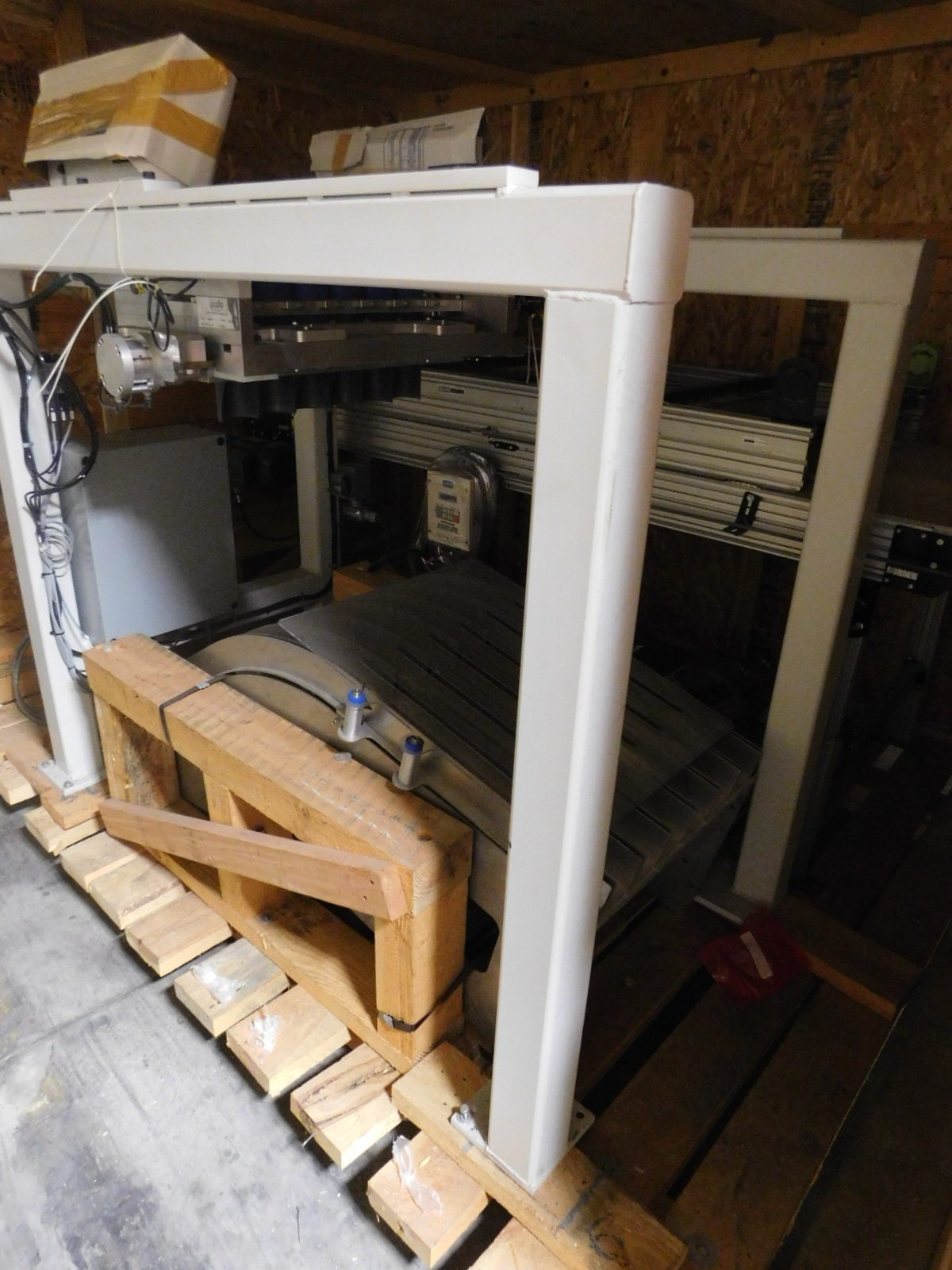 Lot 34 - Axis Automation Group Denester 2 , Cone Denester with a 3'X8' Donner Coneveyor,SNA3504.R3-00F0 :