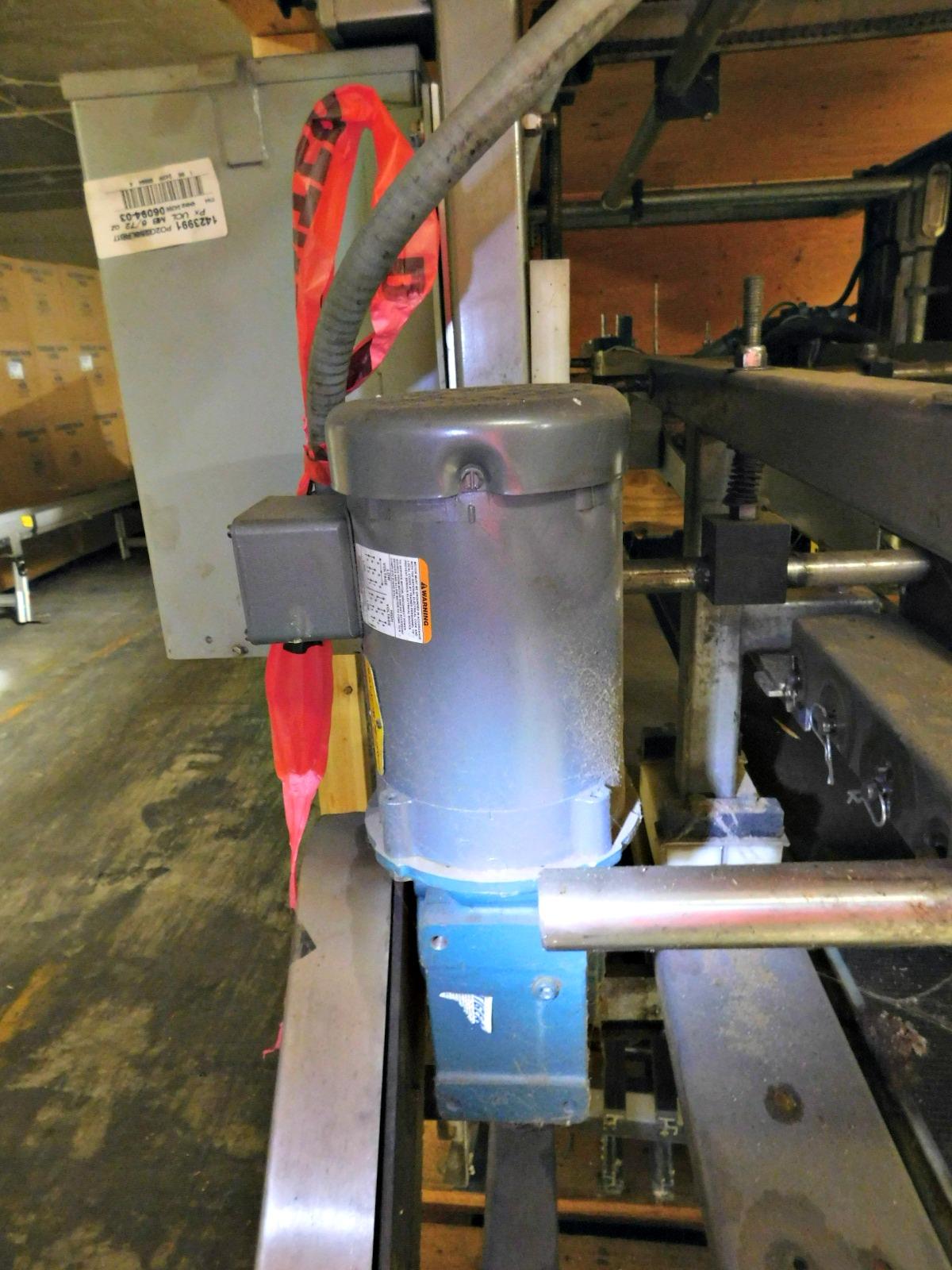 Lot 56 - Case Sealer with a Nordson 3700V-1EBV2F/Allen Bradley SLC500 Programmable Controller :equipment