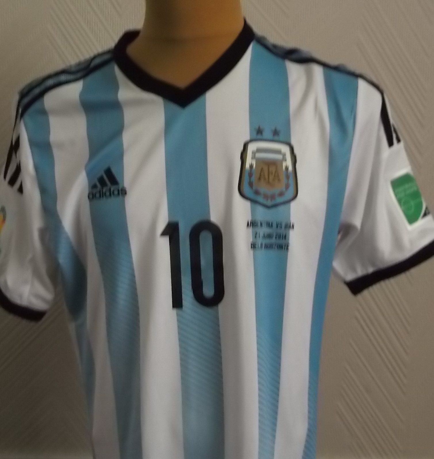 newest 4e9a8 4d0f7 This is a very rare Lionel Messi match worn & unwashed shirt ...