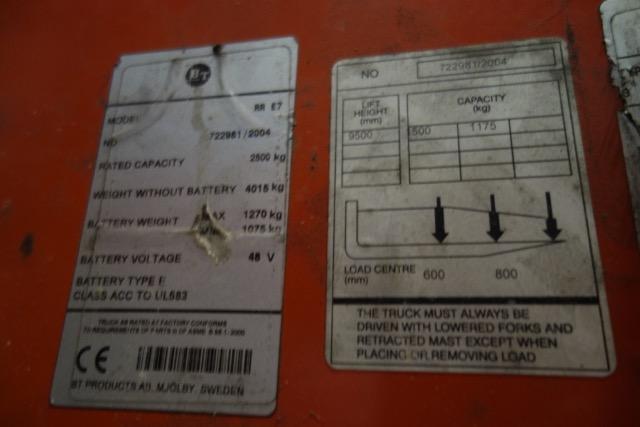 bt reflex reach truck manual