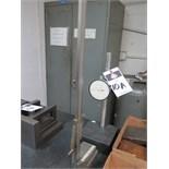 "Granite Indicator Base w/ Indicator and Mitutoyo 18"" Vernier Height Gage"