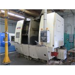 Okuma & Howa 2SP-V55 Twin Spindle CNC Vertical Turning Center s/n 55095 (8011) w/ Fanuc Series 18-