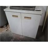 Storage Cabinet w/ Misc Inspection