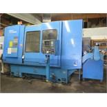 Miyano ATS-60S Twin Spindle CNC Turning Center s/n ATS0037SA w/ Fanuc 0T Controls, 12-Station ATC,