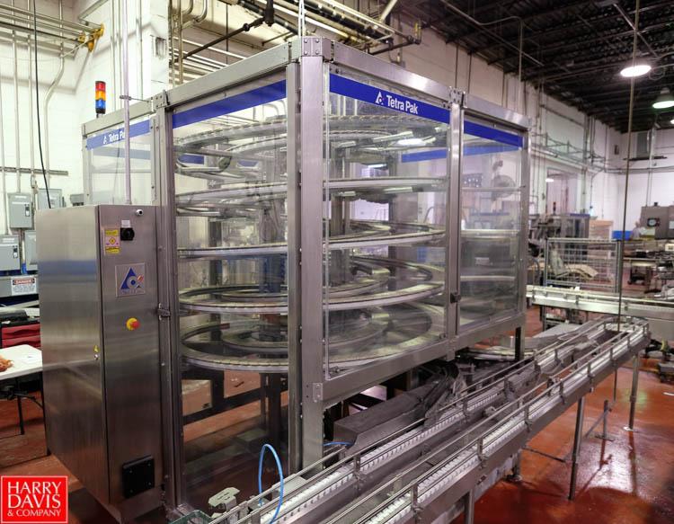 Lot 1 - Tetra Pak Tetra Brik Aseptic Packaging Line, Model: ASU/19 TBA 125 Slim
