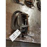 Lot of (6) C-Clamps | Rig Fee: $10