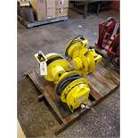 Lot of (4) Electric Cord Reels | Rig Fee: $35