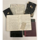 Lot 466 - Teeling Family Geneology 1798: Genealogy: A collection of ten Exercise Books containing