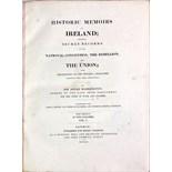 Lot 623 - Barrington (Sir Jonah) Historic Memoirs of Ireland; ...