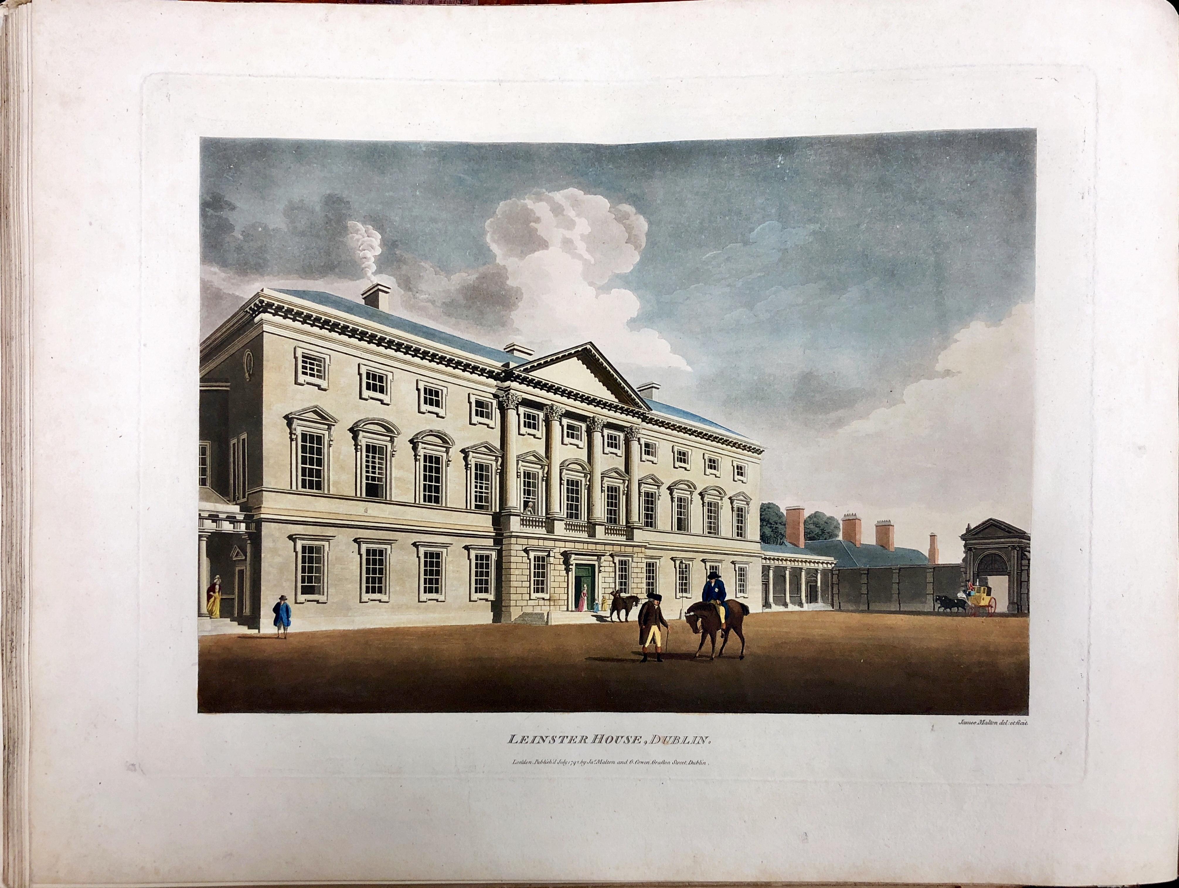 Lot 549 - The Greatest Irish Coloured Plate Book Original Coloured Copy Malton (James) A Picturesque and