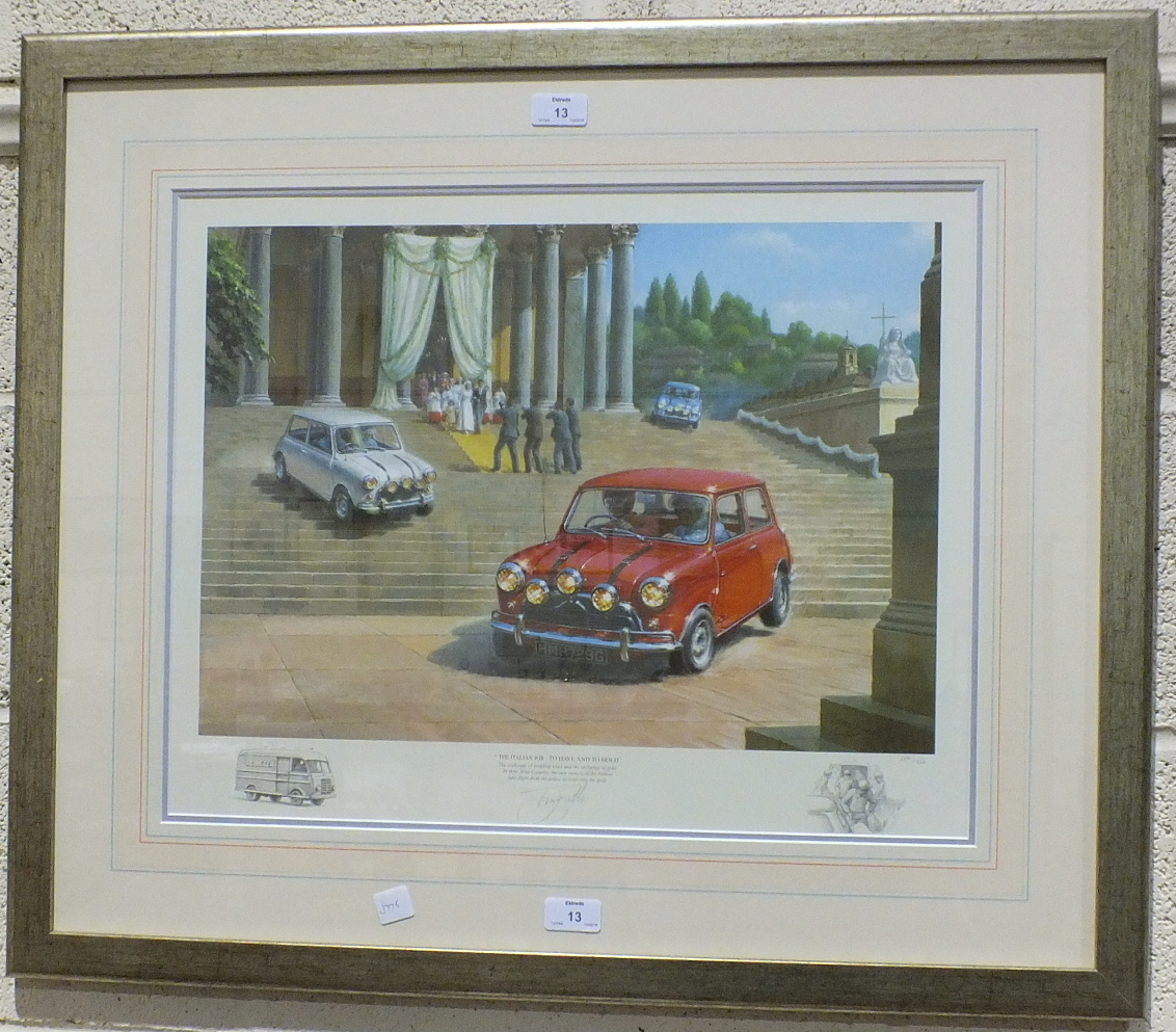 Lot 51 - •After Tony Smith, (20th century contemporary), 'The Italian Job - To Have And To Hold', a
