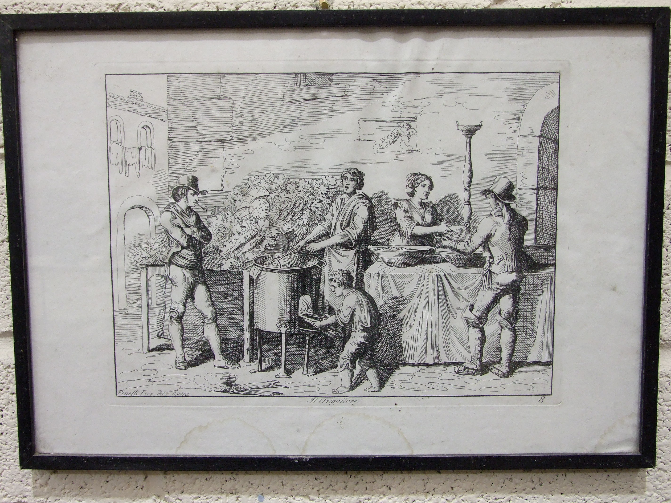 Lot 47 - After Bartolomeo Pinelli (1781-1835), a collection of twenty engravings from 'Nuova Raccolta Di