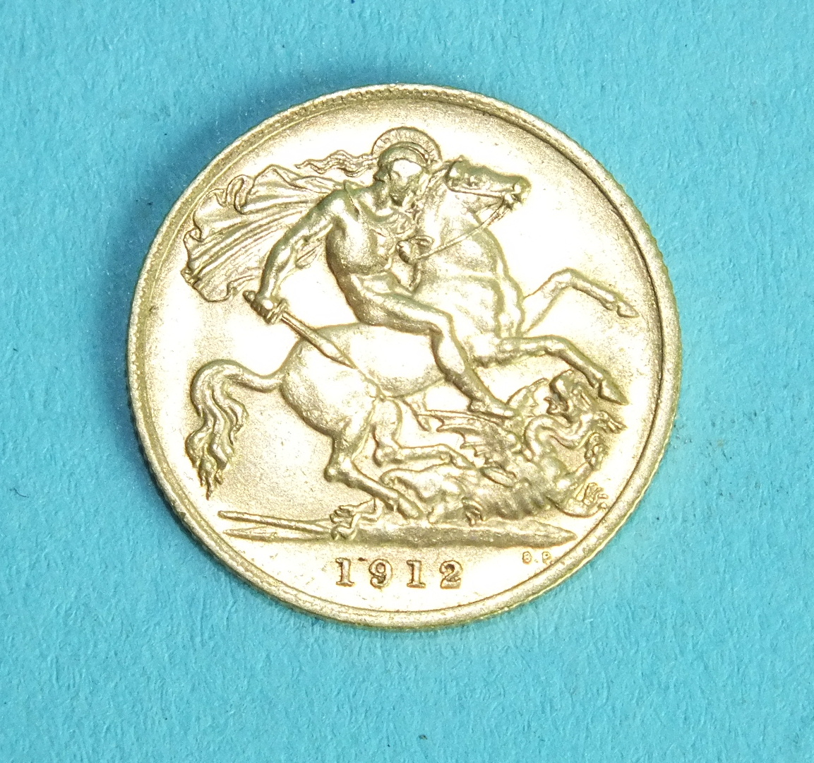 Lot 361 - A George V 1912 half-sovereign.