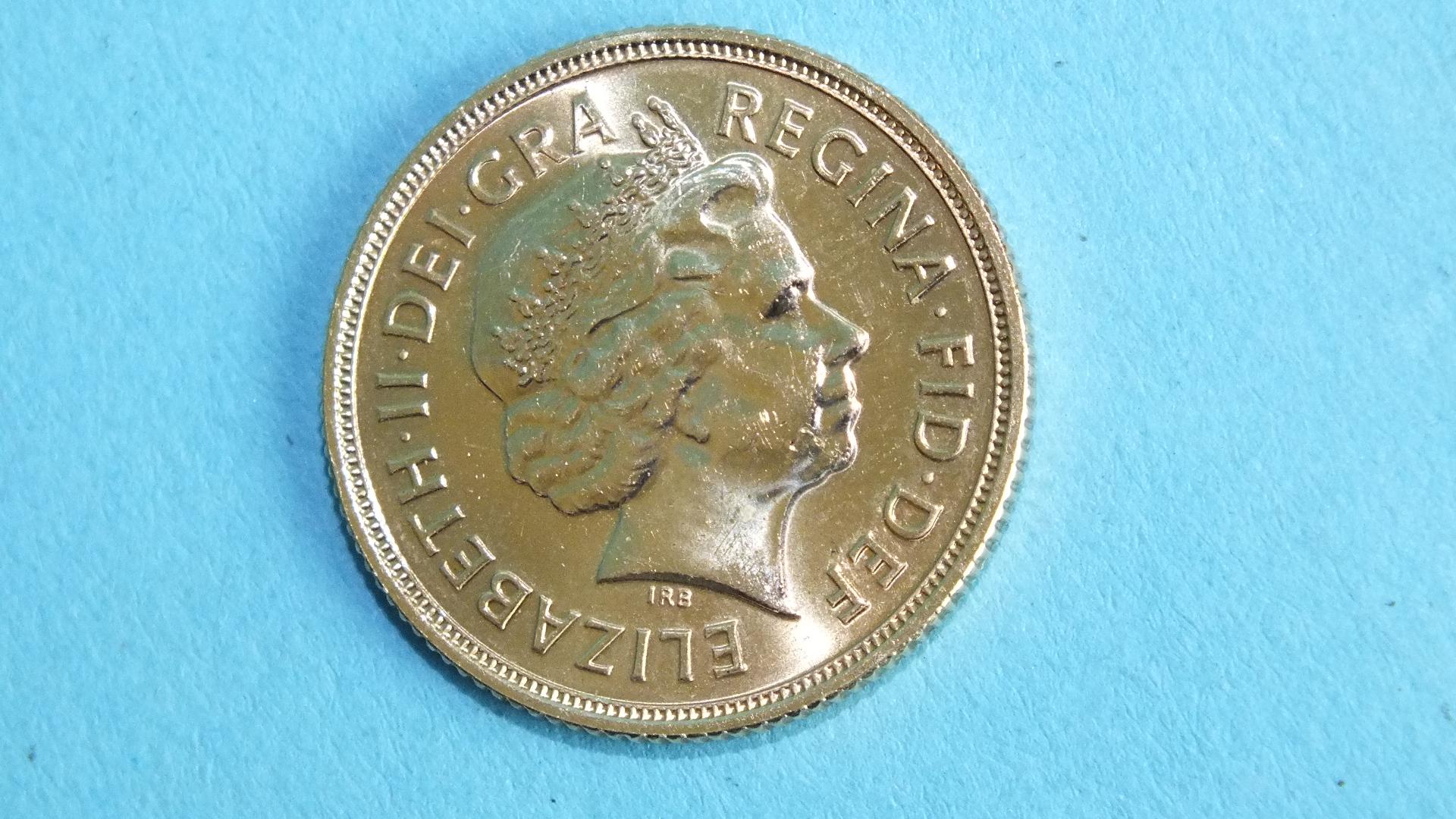 Lot 384 - An Elizabeth II 2012 sovereign.