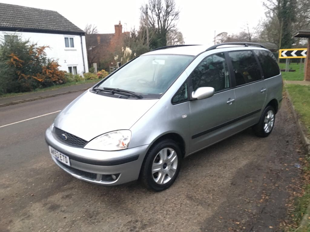 Ford Galaxy Camper Conversion >> REG 53 2003 FORD GALAXY GHIA 1.9 TDI LOG BOOK PRESENT MILEAGE 116,268 SERVICE HISTORY PRESENT