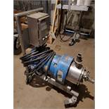 10 HP Silverson Model 450LS Stainless Steel Inline-Mixer