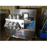 APV Gaulin 3-Stage 535 GPM Homoginizer Model MS18-10 TBS - Stainless Steel Construction