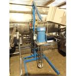 Silverson 5HP (3HP) EX-60 High Shear Batch Mixer with Lift Cart - Stainless Product Contact