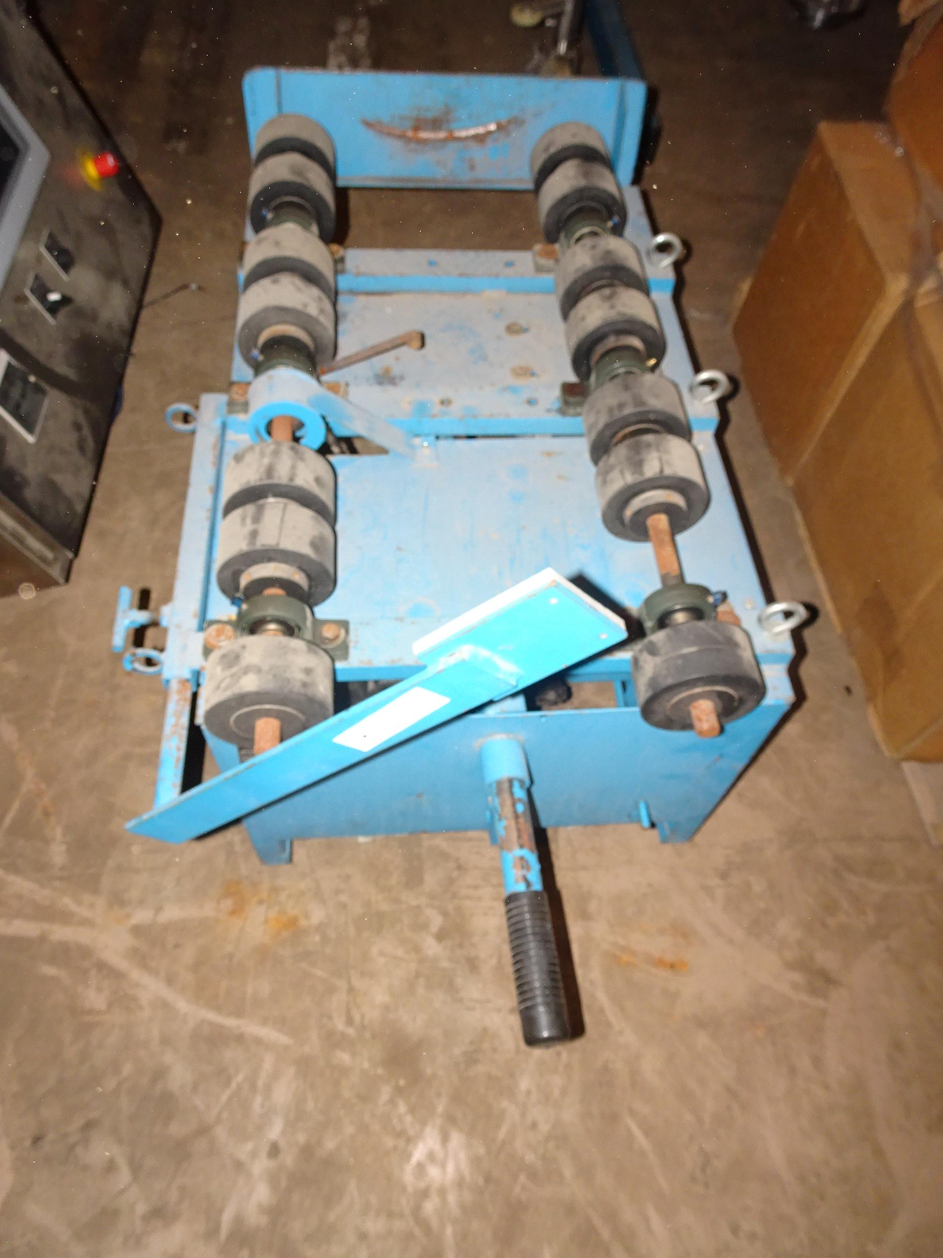 Morse 201VS-1 Portable Horizontal Drum Cart With Horizontal Drum Rollers - Image 2 of 3