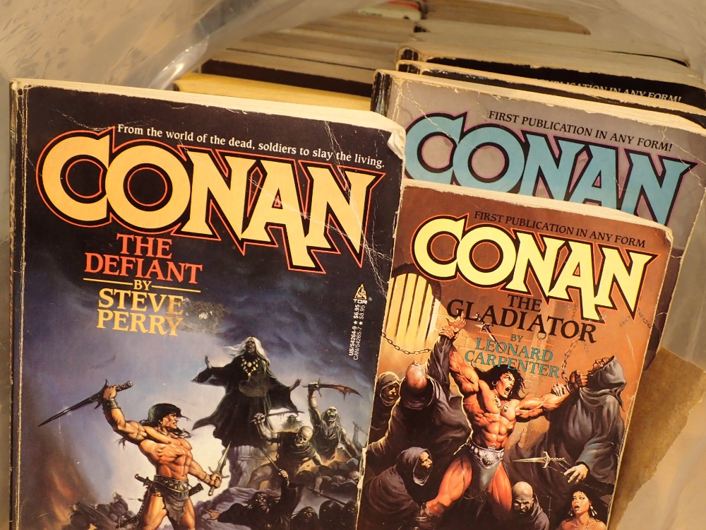 Lot 32 - Forty eight Conan novels English and Canadian