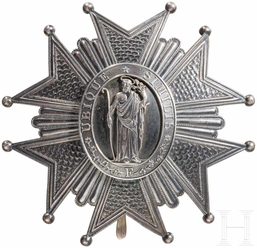 Lot 3866 - Verdienstorden vom Hl. Joseph, Toskana, Bruststern zum Großkreuz, frz. Fertigung von Lemaitre,