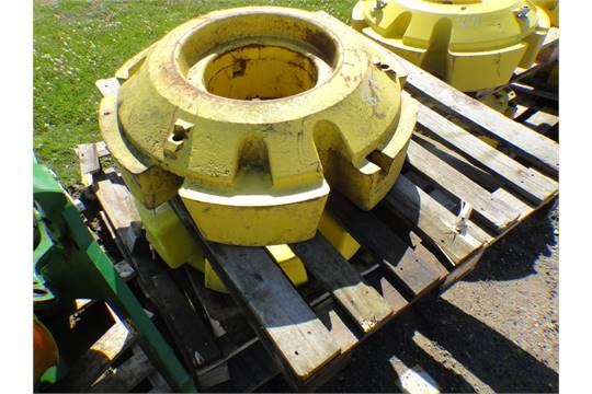 John Deere Rear Wheel Weights : John deere rear wheel weights unused