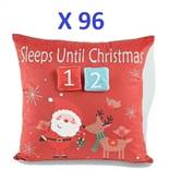 96 x Super-Soft Christmas Cushions RRP £959