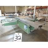 """Kirchfeld Type EK, 12"""" Table Saw S/N 9564"""