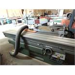 Altendorf mod. F-45, Sliding Bed Table Saw S/N 89-11-148