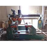 """Tyler 60"""" Spacing Automatic French Dovetail Drawer Machine"""