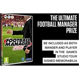 Star in Football Manager 2017 & 2018 and exclusive access to the Football Manager studios
