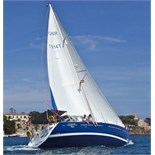 Enjoy a week on the magnificent 47ft sailing yacht Half Tidy in St Kitts and Nevis in the Caribbean