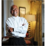 Own Chef Ken Hom OBE own celebrity chef white jacket
