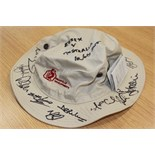 Signed hat by the 2015 Australian Cricket Team