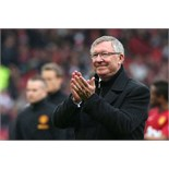 Meet legendary former Manchester United manager Sir Alex Ferguson, game & hospitality Old Trafford