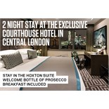 Courthouse Shoreditch Hotel – once home to the Kray brothers invites two people for two nights