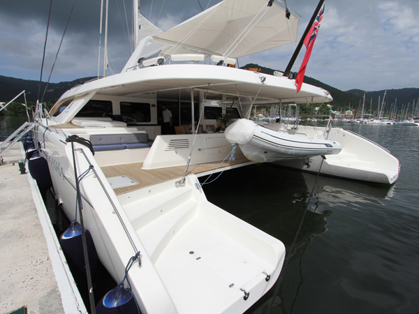 Lot 25 - British Virgin Islands sailing for a week on the magnificent catamaran 'Akasha' for up to 10 guests