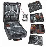 + VAT Brand New 186pc (Minimum) Tool Kit In Wheeled Carry Case Includes Rachet Spanners