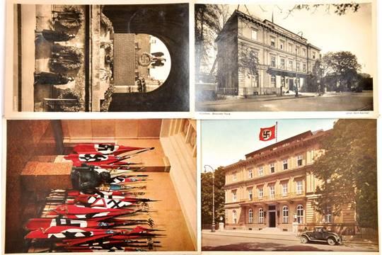 Braunes Haus 4 ak münchen braunes haus 2 außenansichten 1x fahnenhalle ewige