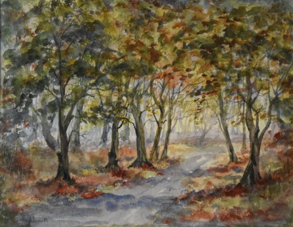 Lot 21 - Group of assorted pastels, watercolours and oil paintings (10) Condition: