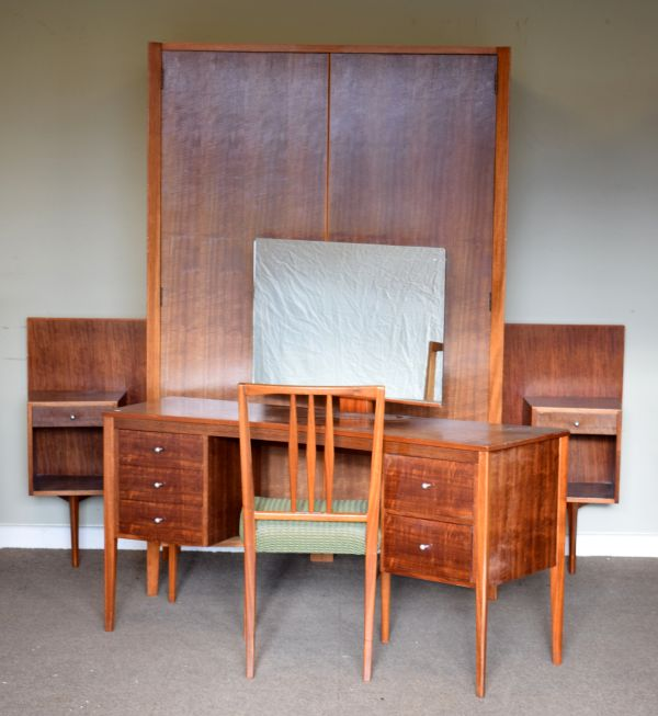 Lot 58 - Modern Design - 1960's/1970's Gordon Russell Workshop (Broadway) Bedroom Furniture comprising; a