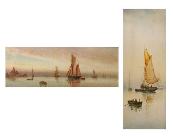 Lot 27 - Two coastal prints after Garman Morris (2) Condition:
