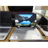 HP Pavilion X360 laptop model 14-CD1004NA core i5 8th gen processor, 8gb ram, 256gb ssd with power