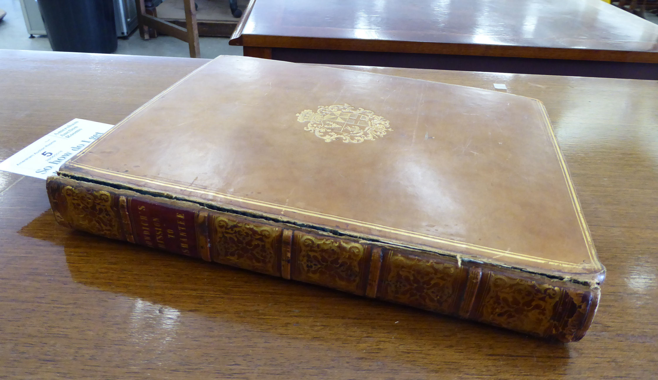 Lot 5 - Book: 'Mission from Cape Coast Castle to Ashantee' with a statistical account of that kingdom and