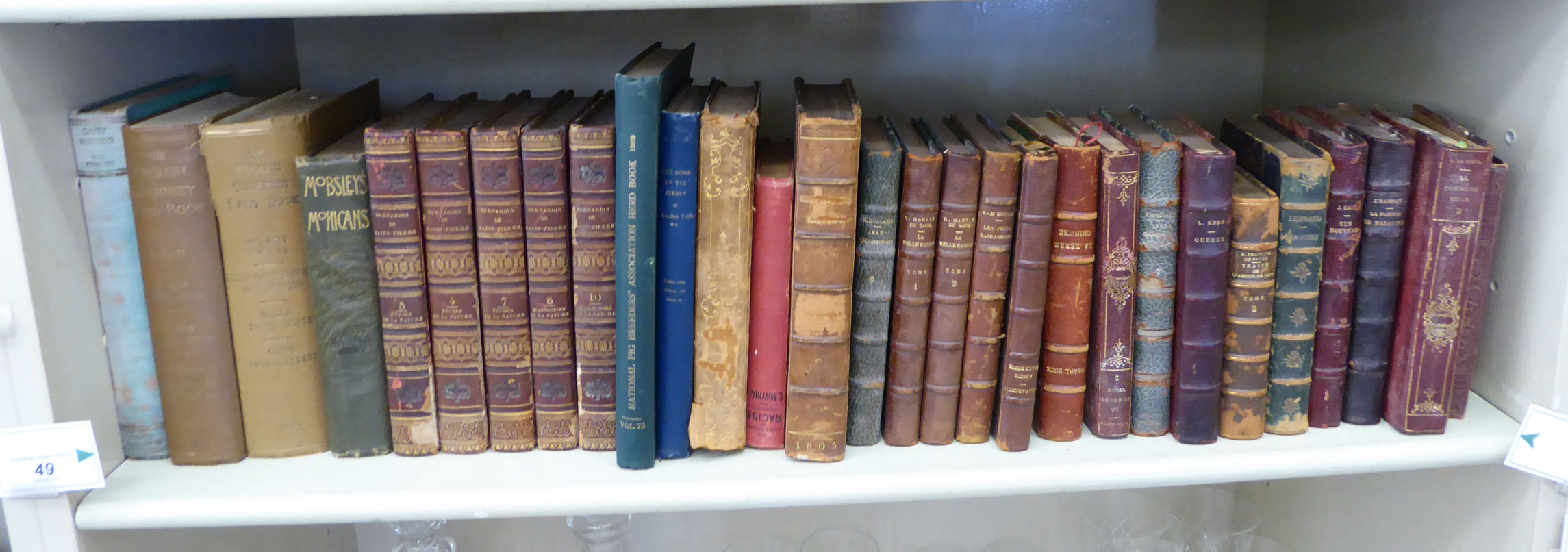 Lot 49 - Books,